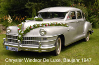 Chrysler Windsor de Luxe Baujahr 1947